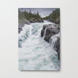 Raging River Metal Print