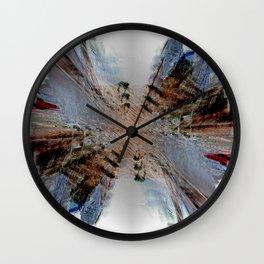 Scrawl Wall Clock