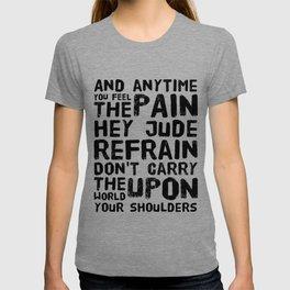 Hey Jude Lyrics T-shirt