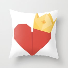 Owner of your heart Throw Pillow