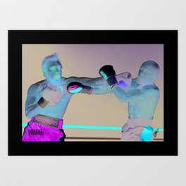 McGregor v Mayweather - Pure Fighting Fantasy Art Print