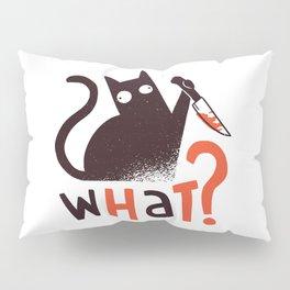 Murder Cat Funny  Pillow Sham