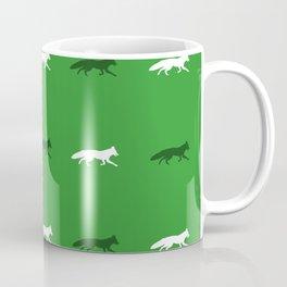 Green Foxes! Coffee Mug