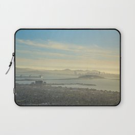 View of SF from Grizzly Peak, UC Berkeley Laptop Sleeve