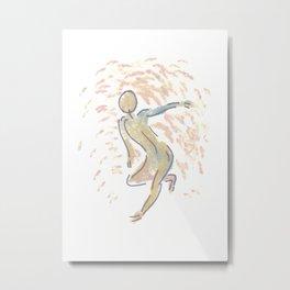 Gesture 02 Metal Print