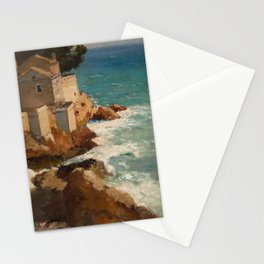ALEKSEI VASILIEVICH HANZEN (RUSSIAN 1876-1937) House on the Dalmatian Coast Stationery Cards