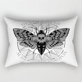 deaths head moth Rectangular Pillow