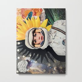 A Conflicted Jean Metal Print