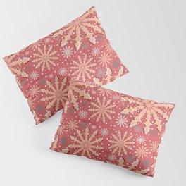 Christmas optical illusion texture pattern Pillow Sham