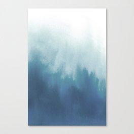 Watercolor blur Canvas Print