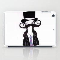 leonardo dicaprio iPad Cases featuring Leonardo by illustrissima