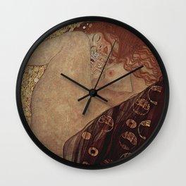 DANAE - GUSTAV KLIMT  Wall Clock