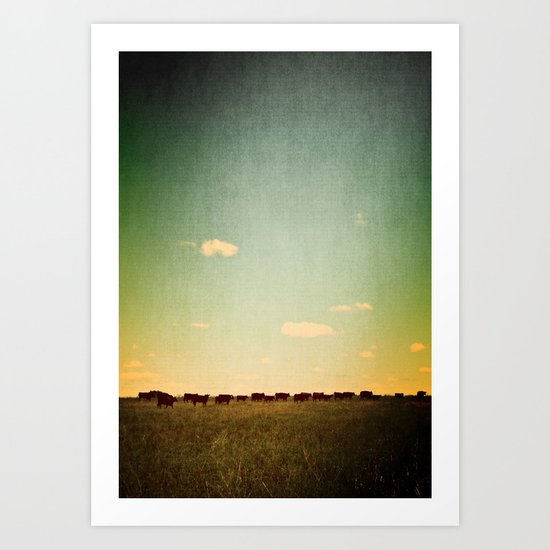 Of the Field Art Print
