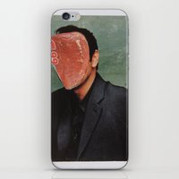 kevin russ iPhone & iPod Skins featuring Kevin by Marko Köppe
