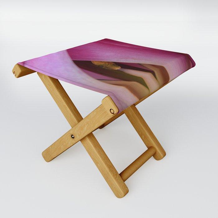 Peek A Boo Pink Folding Stool