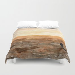 Not Here Duvet Cover