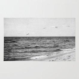 Lake Michigan Seagulls Rug