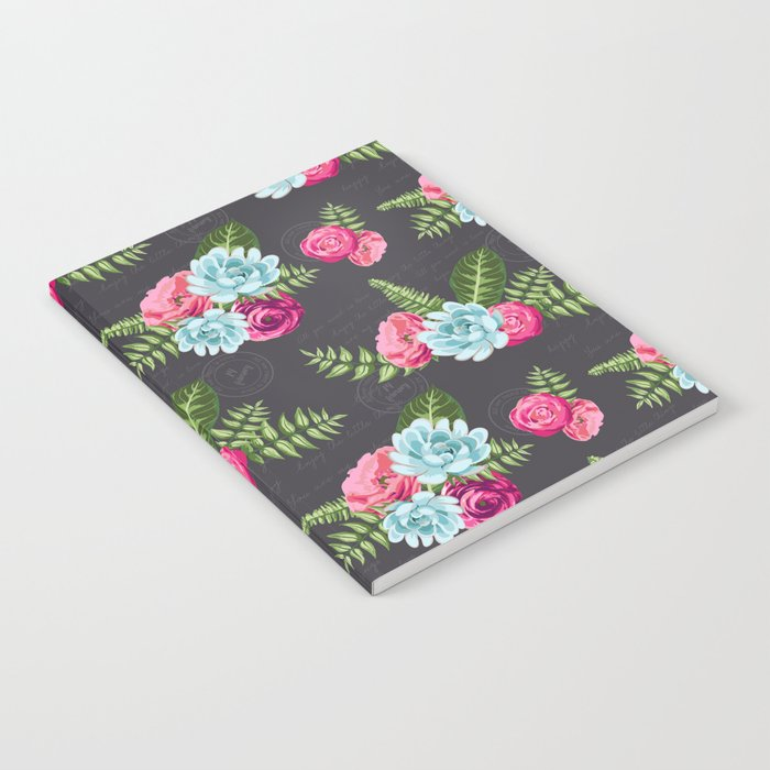 Flower Pattern Notebook