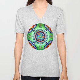 Native American Spirit Unisex V-Neck