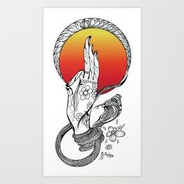 Gyan Mudra Art Print