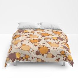 Fractal Cicada Swarm Comforters