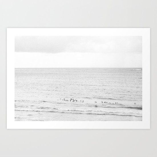 The Beaches of Puerto Rico - Black and White Photography Art Print
