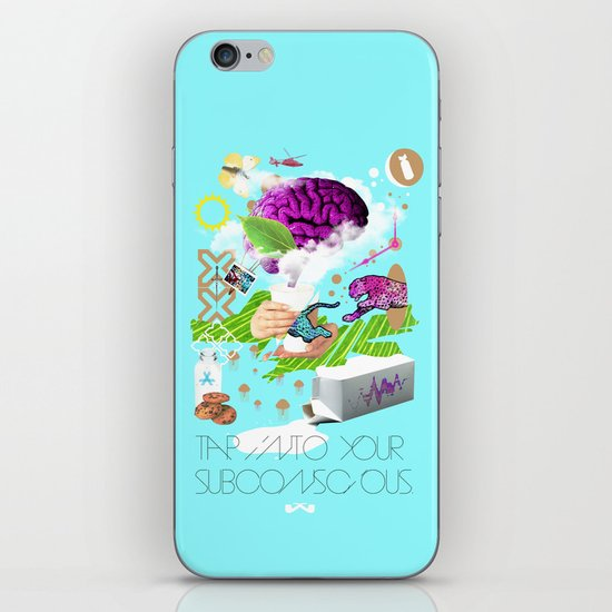 Tap into your subconscious. iPhone & iPod Skin