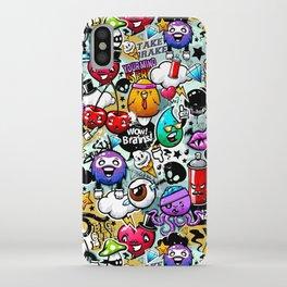 Bizarre Graffiti #1 iPhone Case