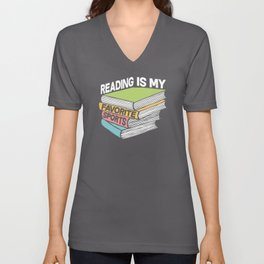 Book Discussion Unisex V-Neck
