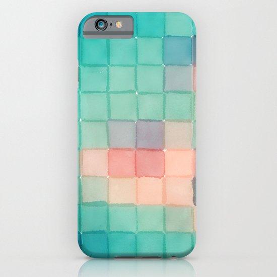 Polaroid Pixels VI (Crabapple) iPhone & iPod Case