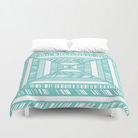 frames Duvet Covers featuring Frames by • Amanda Khoo •