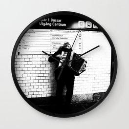 Proud Performer Wall Clock