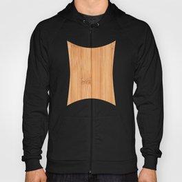 Cool elegant light brown bamboo wood print Hoody