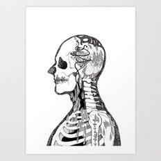 Demon Days ~ A. Art Print