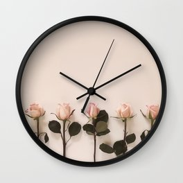 Just Rosey Wall Clock