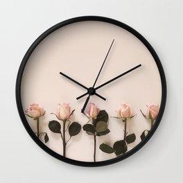 Just Rosey Wall Clock