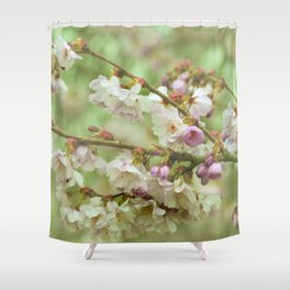 for willow Shower Curtain