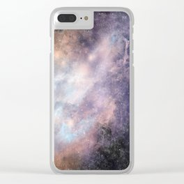 Nebula: Spirited Clear iPhone Case