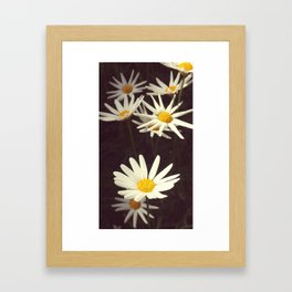 Where there is light. Framed Art Print