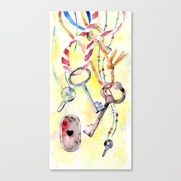 Keys Canvas Print