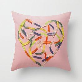 Sweet heart Throw Pillow