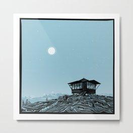 Desolation Peak Metal Print