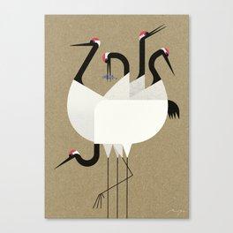 Cranes Canvas Print