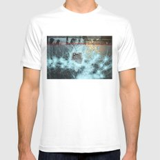 Floating Mens Fitted Tee SMALL White