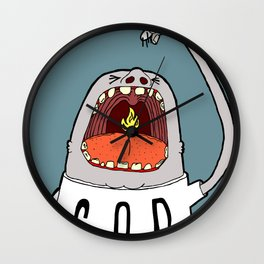 Swallow Them Up Wall Clock