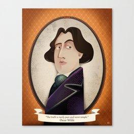 Oscar Wilde said... Canvas Print