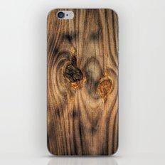 Wood Knots iPhone & iPod Skin