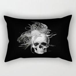 Skull 50 shades of grey Rectangular Pillow