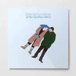 Eternal Sunshine of the Spotless Mind Metal Print