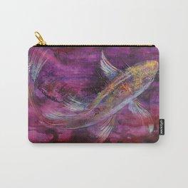 Aubergine Koi Carry-All Pouch